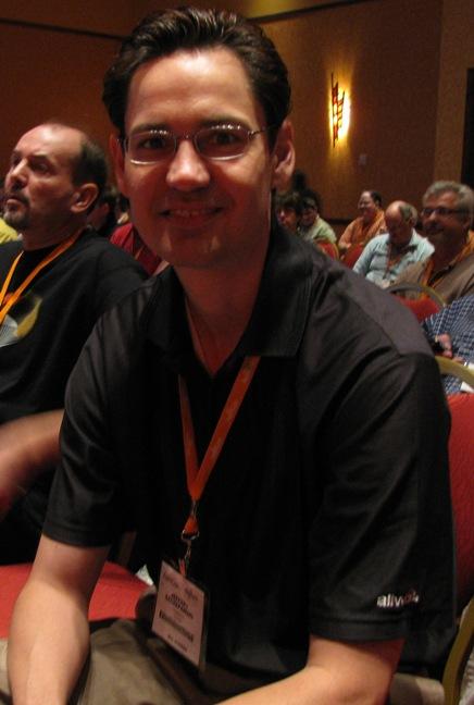 Allworx founder Jeff Szczepanski at AstriCon 2009