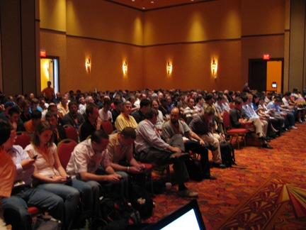 Keynote audience at AstriCon 2009